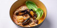 2 - Лакса с морепродуктами